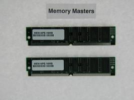 MEM-NPE-16MB 32MB Approved 2x16MB DRAM Memory Kit for Cisco NPE-100/150/200