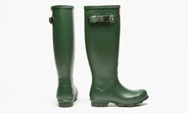 Hunter Norris Field Side-Adjustable Boots Women Tall Green Size 14  - $1.665,04 MXN