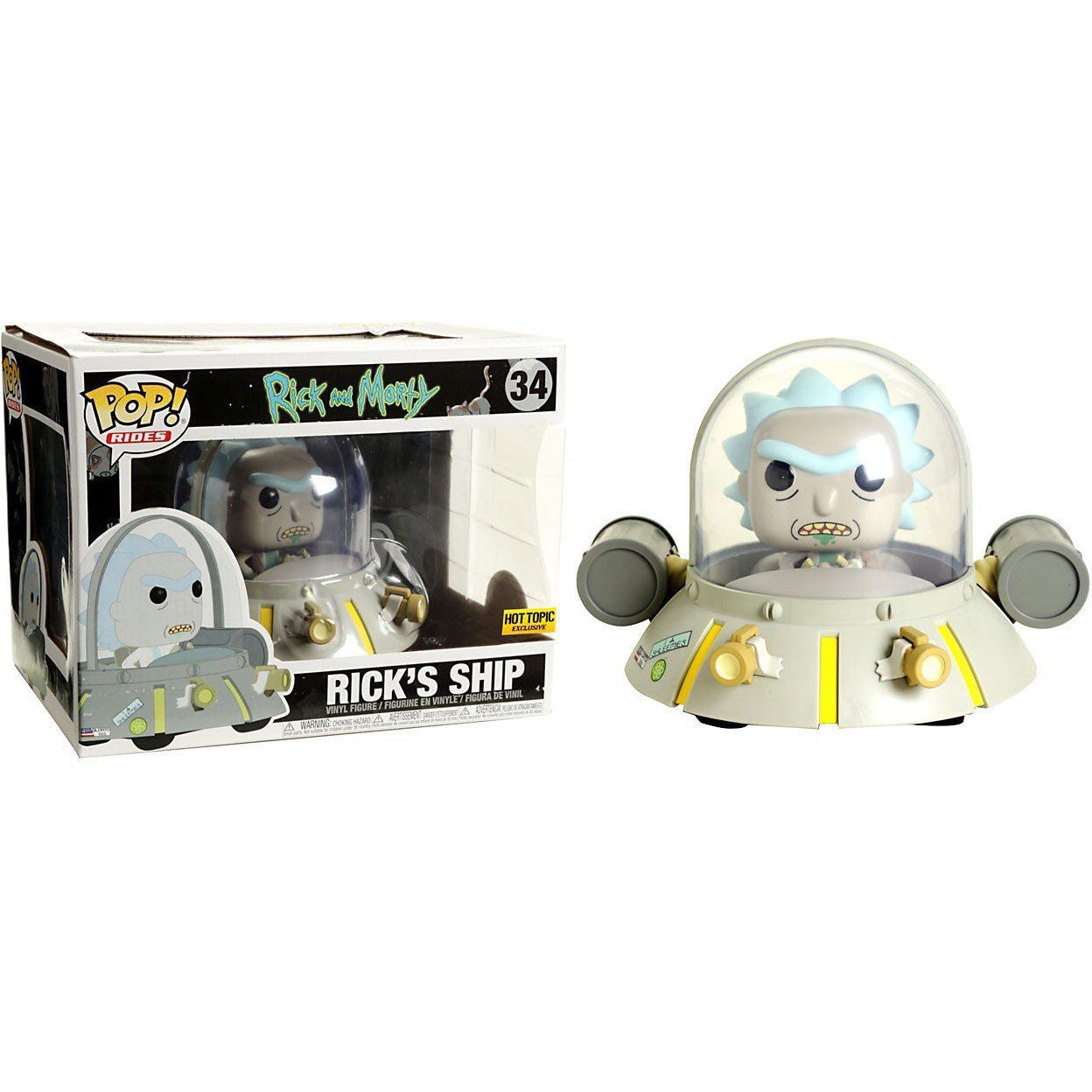 Primary image for Rick and Morty Funko POP! Hot Topic Exclusive - Rick's Ship