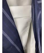 KASPER For ASL Women 2PC Elegant Skirt Suit Blue and White Stripe Size 14 - $37.40