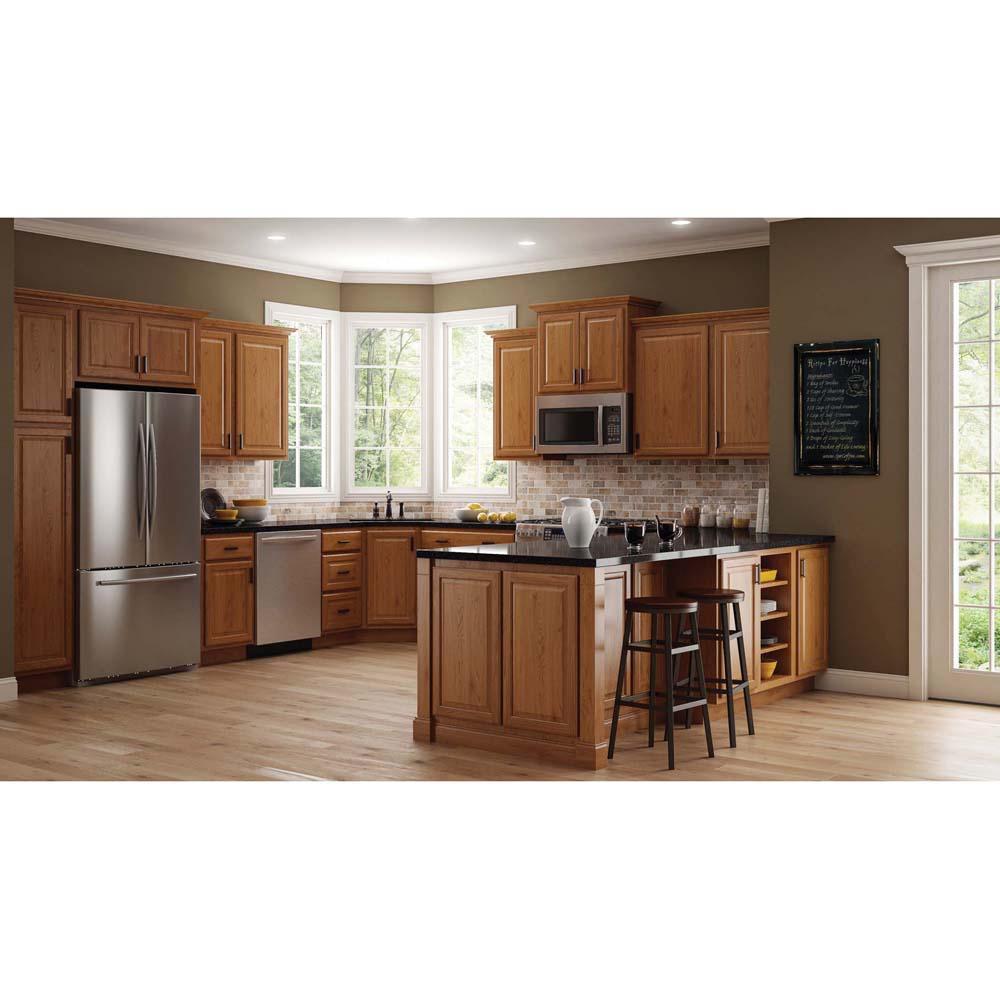 Hampton Bay In-Stock Kitchen Cabinet 30 in. x 34.5 in. x ...