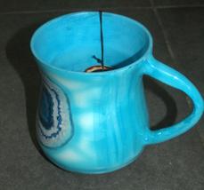 Judaica Hand Wash Cup Netilat Yadayim Last Water Aluminum Natla Tie Dye Israel image 3