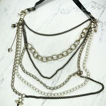 Betsey Johnson Multi Strand Statement Boudoir Panty Shoe Corset Charm Necklace - $53.42