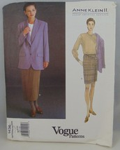 Vogue Pattern 1436 Anne Klein II suit plus size 18-22 - $19.79