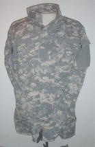 US Army ACU coat X-Lg, X-Long; American Apparel 2005 digital gray camouflage - $35.00