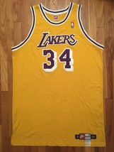 1998-99 Nike Los Angeles Lakers Shaquille O'Neal Pro Cut Jersey 56 + 6 inches - $399.99