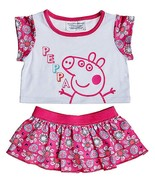Build a Bear Peppa Pig 2 pc. Skirt Teddy Size O... - $39.95