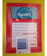 Playing Cards HARRAHS LV Casino COMPLETE used in play BOX SEALED w/stamp... - $4.99