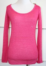 American Eagle Outfitters Womens X-Small Raspberry Top Long Sleeve NWT *$24.95 - $14.84