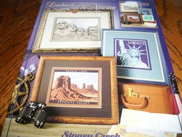 Landmarks of America Book 336 Cross Stitch Designs - $15.00