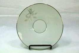 Rosenthal Continental Bettina Gray Rose Set Of 4 Saucers - $6.92