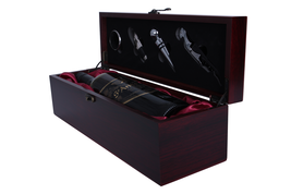 Premium Rosewood Wine Gift Box (Includes Accessory Kit)  - $319,99 MXN
