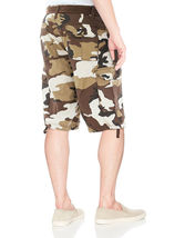 Men's Tactical Combat Military Army Cotton Twill Camo Cargo Shorts With Belt image 4