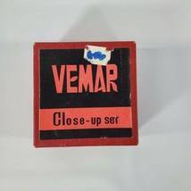 Vintage 52mm Vemar Close Up Camera Lens Set Made in Japan - $16.83