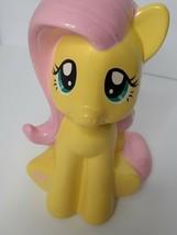 "My Little Pony Fluttershy Yellow Ceramic Bank Hasbro 9 1/2"" Tall Money Saver - $29.00"