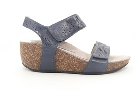 Abeo Uphold  Wedges Sandals Blue Women's Size US 8 Neutral Footbed ($)  - $93.15