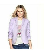 GAP | Size 2 Women's Fitted The Academic Blazer Lilac Purple NWT $88 - $39.60