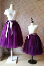 Mommy & Me TUTU Skirts Set Mommy Daughter Tutu Photo Prop Tulle Skirt Plus Size image 2