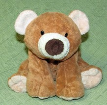 "Ty PLUFFIES SLUMBERS Teddy Bear 2002 Tan Brown 12"" BEADED Eyes Plush Stu... - $28.04"