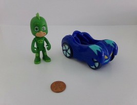 Disney Junior PJ Masks GEKKO Just Play Action Figure in Blue Cat Car - $8.90