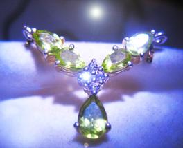 HAUNTED CHOKER LIGHT MAGNET ATTRACT POSITIVE OFFER ONLY MAGICK 7 SCHOLAR... - $200.00