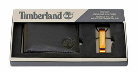 Timberland Men's Leather Billfold Wallet w/ Bottle Opener Key Chain NP0565/01 image 3
