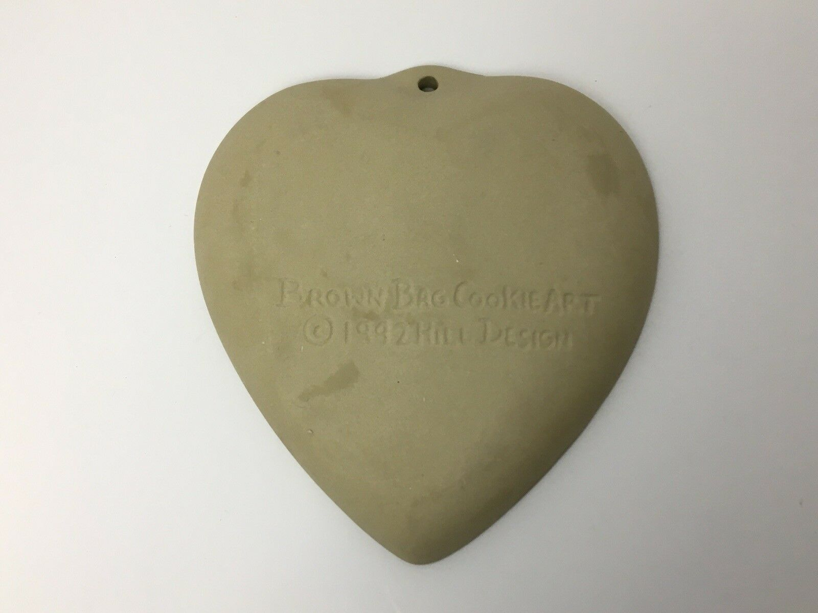 Vtg Cookie Press Cupid Heart Love Craft Brown Bag Food Mold USA Valentines Day image 12