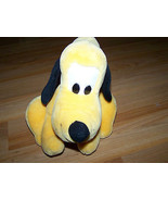 "Walt Disney World Pluto Plush Dog Toy Sitting Position 10"" Medium Size A... - $20.00"