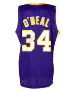 Shaquille O'Neal Signed Purple Custom Basketball Jersey w/Kobe 24 Patch ... - $237.59