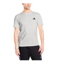 Adidas 3S Jersey SS Tee, Grey, Small - $22.72