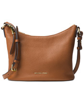 Michael Kors Lupita Medium Leather Messenger Crossbody Bag NWT Acorn $228 - $149.54
