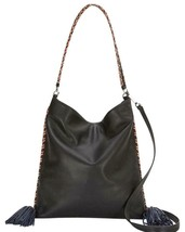 Rebecca Minkoff  HSP7ECAH38  Chase Convertible Hobo Bag -Black $295 - $127.71