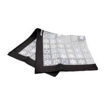 Hermes Puchikare Carre 45 FEUX DE LHIVER silk gray apparel Auth - $374.20