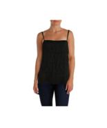 Lauren Ralph Lauren Womens Tiered Fringe Cami Top - Size 6 - $31.67