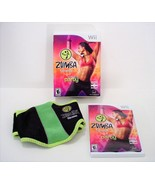 Zumba Fitness Nintendo Wii Complete in Box with Belt - $17.99