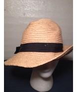 American Eagle Straw Bucket Hat Cap Summer Shade Garden (hb10) - $13.56