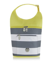 JOY Deluxe Insulated Lunch Cooler Tote Bag, Yellow - $19.77 CAD
