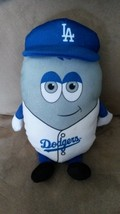 LOS ANGELES DODGERS OVAL GUY Brand New 2016 MLB Licensed Plush Stuffed A... - $11.99