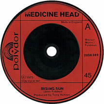 "Medicine Head 7"" vinyl single record Rising Sun UK 2058389 POLYDOR 1973 - $4.71"
