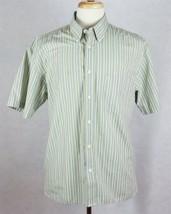 IZOD Mens Easy Care Short Sleeve Shirt Size Large - $16.82
