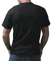 IM KING Mens Black Peace Out Pussy Eat out Graphic T-Shirt USA Made NWT image 3