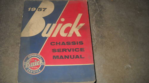 1957 Buick All Series Service Shop Workshop Repair Manual OEM - $39.55