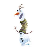 Olaf Frozen Adventure Disney Cardboard Standup Standee Cutout 2575 - $39.95