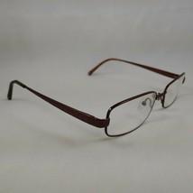 Coach Rx Eyeglasses Frames WENDY Burgundy Brown Metal Rectangle SHINY TAN - $28.45