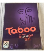 NEW Taboo Party Game of Unspeakable Fun SEALED 13 And Up - $15.99