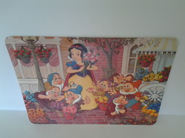 Snow White The Seven Dwarfs Walt Disney World Post Card, Unused Large Size - $9.50