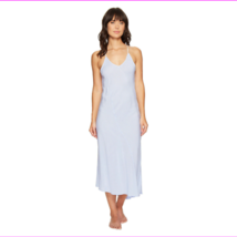 DKNY Blue Stripes Maxi Gown, Small - $18.70