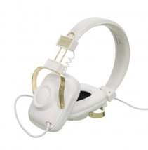 WeSC Premium White Los Angeles Maraca Headphones Jason Lee B405731001 LA NIB image 2