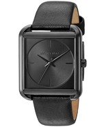 Michael Kors Women's MK2586 'Lake' Black Leather Watch - $124.73