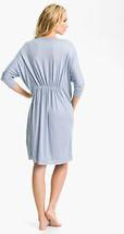 Donna Karen Modal Dolman Sleep Shirt 503358 Pearl Blue Medium Retail $165 - $64.60